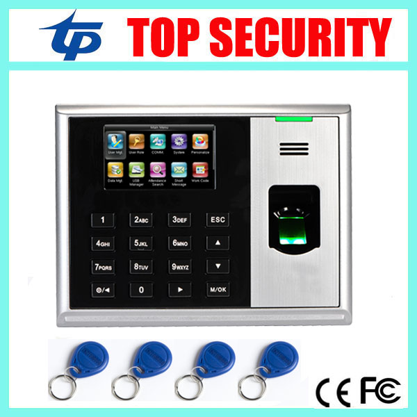 TCP/IP USB fingerprint time and attendance systems 3 inch color screen with RFID card reader zk hot device S30 time attendance hot selling 3 high speed good quality 30000 user capacity color screen time attendance time clock m200 with tcp ip rj45