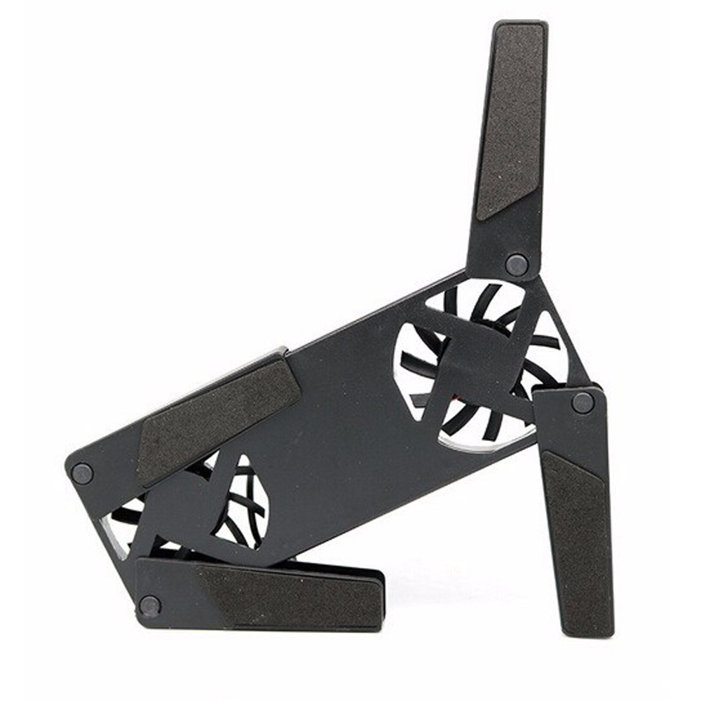 Image 5 - Universal USB Cooling Fans Foldable Double Fans Cooler Stand Portable Mini Cooling Pad For Notebook Laptop Gamepad Accessories-in Fans from Consumer Electronics