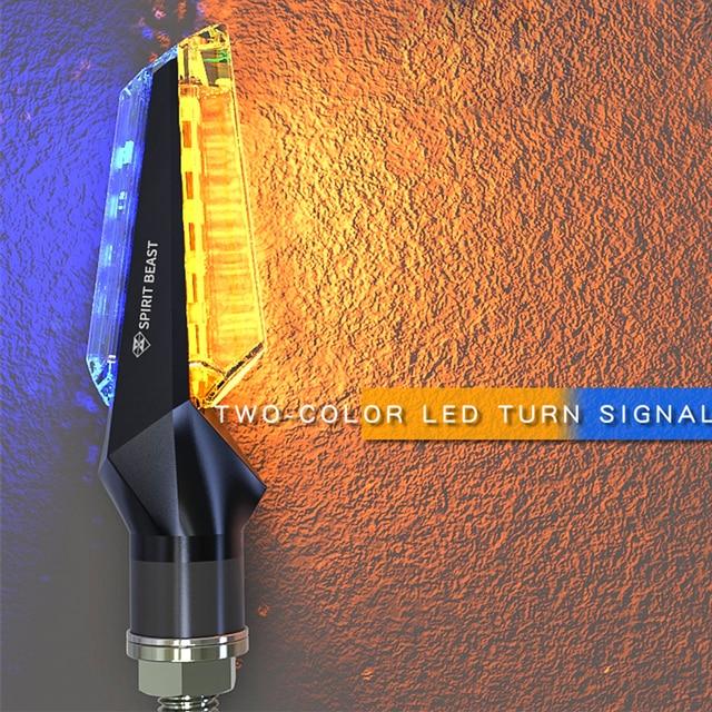 SPIRIT BEAST LED motorcycles for harley Turn Signal Drl Flasher for honda msx x adv yamaha yzf r125 tdm 900 fz1 kawasaki ninja