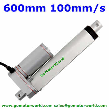 Best heavy duty Linear Actuator 12V 24V 600mm Stroke  1600N load 100mm/s speed actuator linear manufacturer - DISCOUNT ITEM  5% OFF All Category