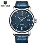 Mens Watches Leather...