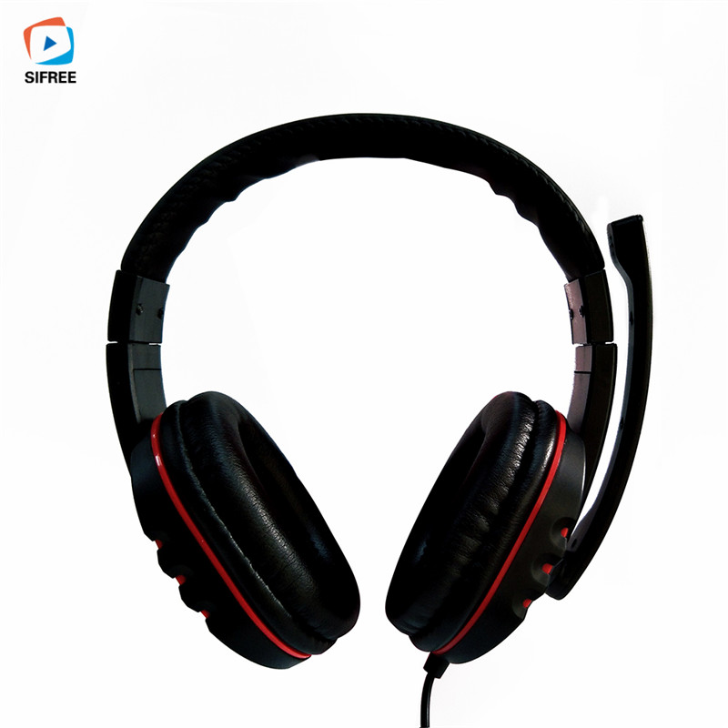 2017 New Game Headphone Wired Stereo Surrounded Gaming Headset Headband Earphone for music Computer PC Gamer with Mic