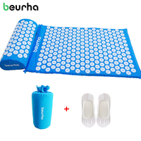 Beurha Body Head Foot Massager Appro 67 42cm Cushion Relieve Pain Acupressure Mat Relief Acupuncture Massage