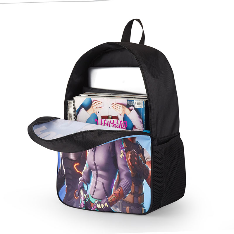 Image 3 - LUOBIWANG Famous Game Printed Children Schoolbag Battle Royale Backpack Lovely Cartoon Character Backpack for Boys and Girls-in School Bags from Luggage & Bags