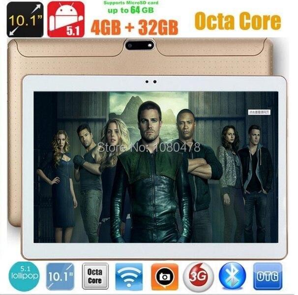 10 Inch Android Tablet PC Tab Pad 4GB RAM 32GB/64G ROM OCta Core Play Store Bluetooth 3G Phone Call Dual SIM Card 10 Phablet