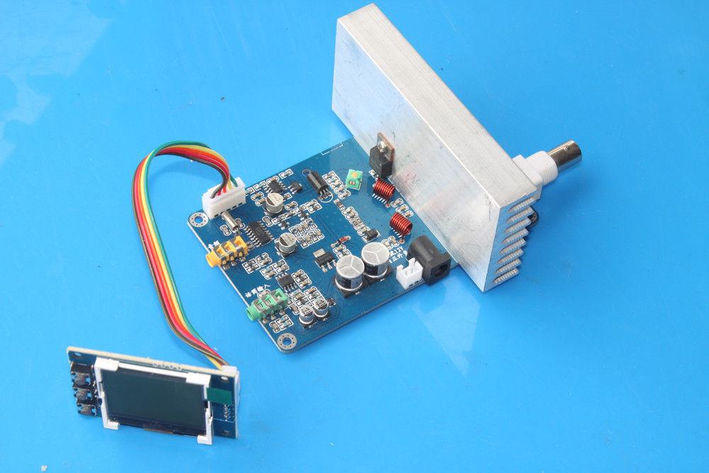 DYKB 15 W Fm zender Radio Station PLL Stereo Digitale frequentie DIY KITS 76 108 MHz Ontvanger antenne + lcd Digitale Display-in Vervangende onderdelen en toebehoren van Consumentenelektronica op  Groep 1