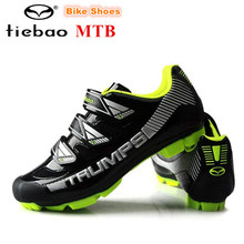 Tiebao Mountain Bike Shoes New 2018 Outdoor sapatilha ciclismo MTB Cycling Shoes Professional Women sneakers Men Bicycle Shoes