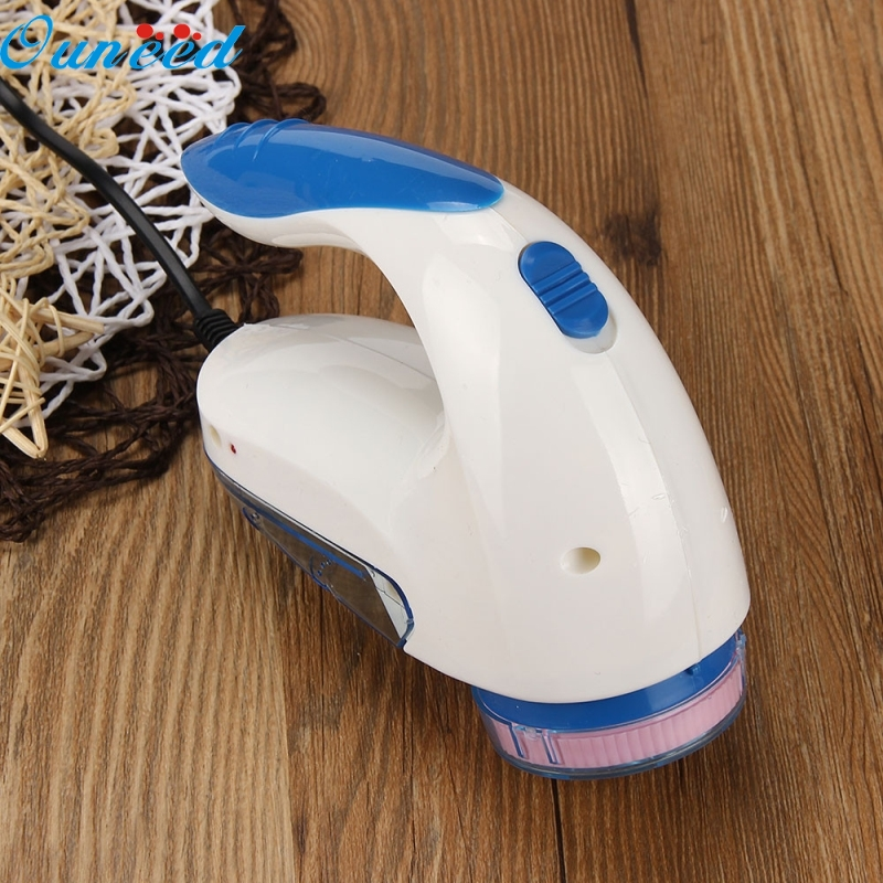 Ouneed Happy Home Fluff Cleaning Portable Electric Sweater Clothes Lint Pill Fluff Remover Fabrics Fuzz Shaver 1 Piece цена и фото