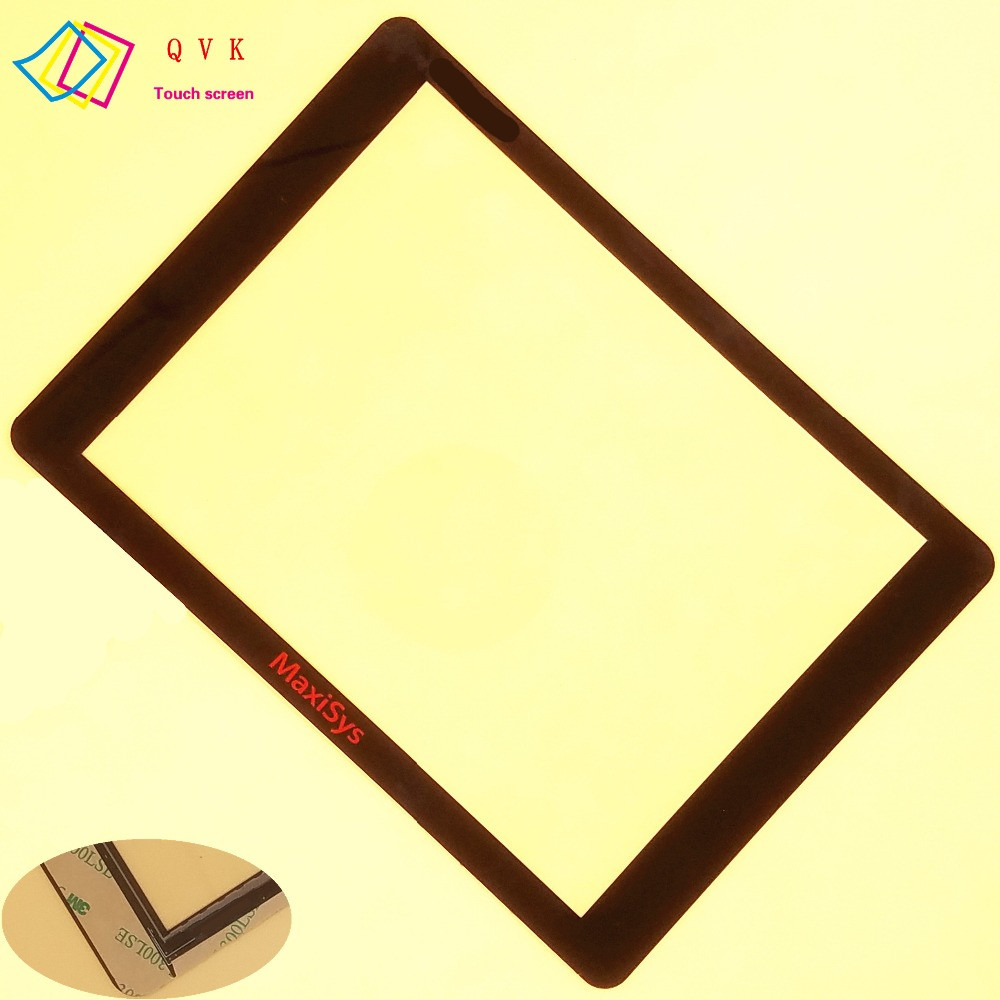 For AUTEL MaxiSys Pro MS905 MS906 MS908 P TS BT PRO Automotive Diagnostic touch screen panel Digitizer Glass sensor replacement
