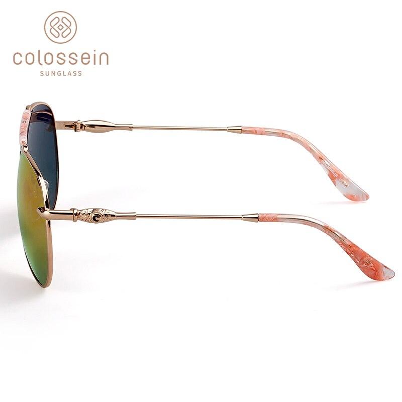 COLOSSEIN lielgabarīta saulesbrilles sievietēm Vintage ovāla - Apģērba piederumi - Foto 3