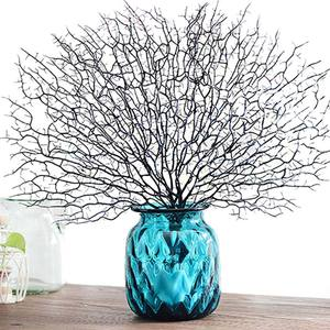 Image 5 - Artificial Coral Branch Fake Tree Branches Dried Plants White Plant Home Wedding Decoration LBShipping