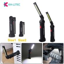 KHLITEC COB Handheld Movable Work Lights USB Charging Multi-functional and Folding Emergency Portable LED