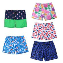 be120ee1f6 New Style European&American Men Swimming Pants Quick Drying with Print  Pattern Shorts Wear Swim Sport Briefs