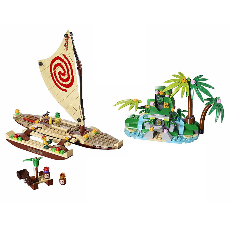 Lepin 25003 Moana Ocean Voyage Restore The Heart of Te Fiti Set Building Blocks Maui Assembling Toys Gift Compatible with 41150 флейта the ocean of music