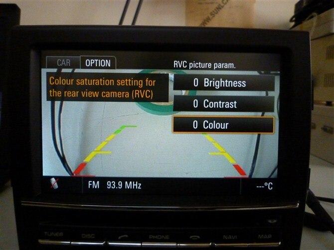 Reversing Image Emulator//Rear View Camera Activator For Porsche Original PCM3.1