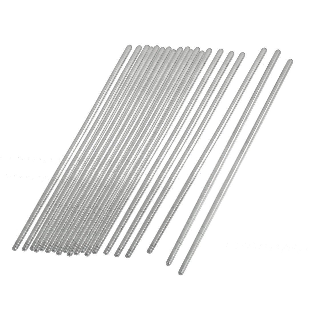 Aliexpress Buy 10 Pair 8 9 Silver Tone Stainless Steel Tapered Slight Design Tableware