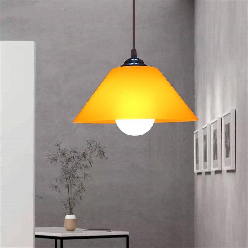 Suspension en PVC abat-jour en plastique luminaires modernes cuisine salle à manger chambre suspension lampe décor à la maison Luminaire