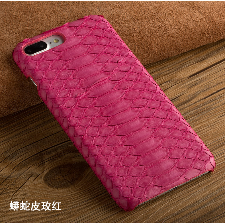 Natural Python Skin Back Case For Huawei Google Nexus 6P / Motorola 6 Real Snake Genuine Leather Rear Cover Moblie Phone Bag