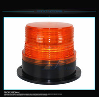 DC12V LED Red Yellow Blue Color Magnetic Mounted Car Vehicle Police Warning Strobe Light Flashing Emergency