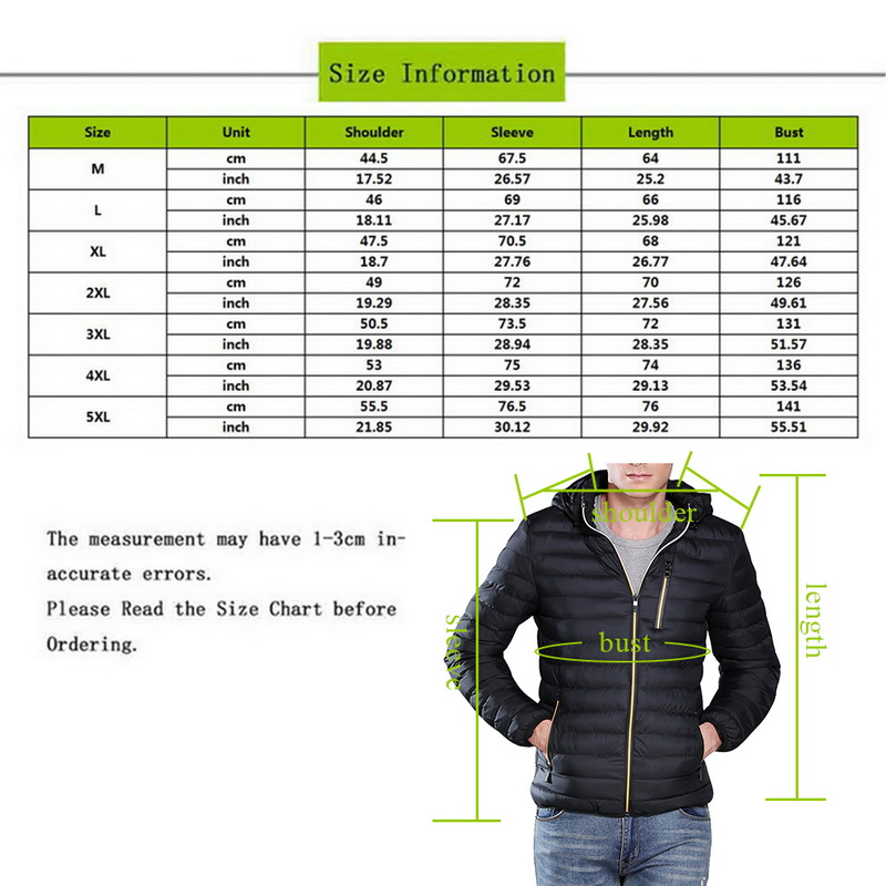 Puimentiua 2019 S 3xl Autumn Men's Leisure Hooded Overcoat Jacket Winter Thicken Slim Fit Softshell Warm Coat Outdoor Jacket