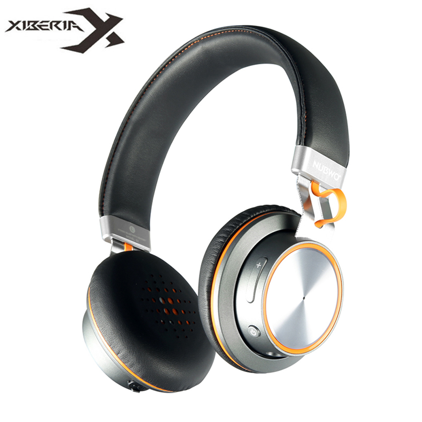 Bluetooth Headset XIBERIA Brand NUBWO Wireless Stereo Headphones HiFi On-ear Headset with Mic Handsfree Calls for iPhone Xiaomi earfun brand big headphones with mic