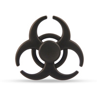 6 Colors Creative Biochemical Fidget Spinner Alloy Hand Spinner EDC Decompression Tri Fidget Toys Gift For