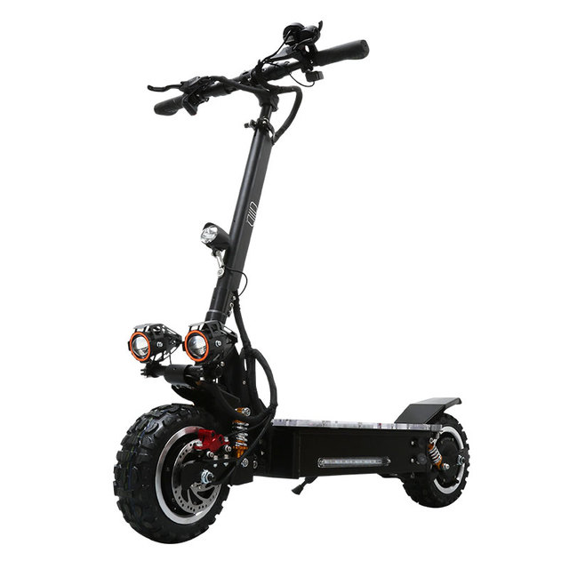 11inch Electric Scooter 3200w Off Road Electric Scooters 60v Lithium Battery Double Front Rear Wheel Drive Top Speed 80km H
