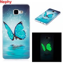 Nephy Telefoon Case Voor Samsung S5 S6 S7 Rand S8 Plus J3 J5 J7 A3 A5 A7 2016 2017 Grand prime Note8 Noctilucent Shine Cover Silicon(China)