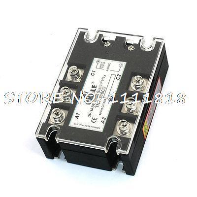 цена на 3-32VDC 480VAC 100A DC/AC Three Phase SSR Solid State Relay TN1/3100D