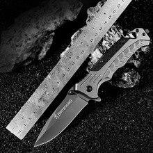 Универсальный Карманный складной нож черный титановый Тактический выживания EDC нож Открытый охотничий нож боевой Кемпинг мульти инструмент