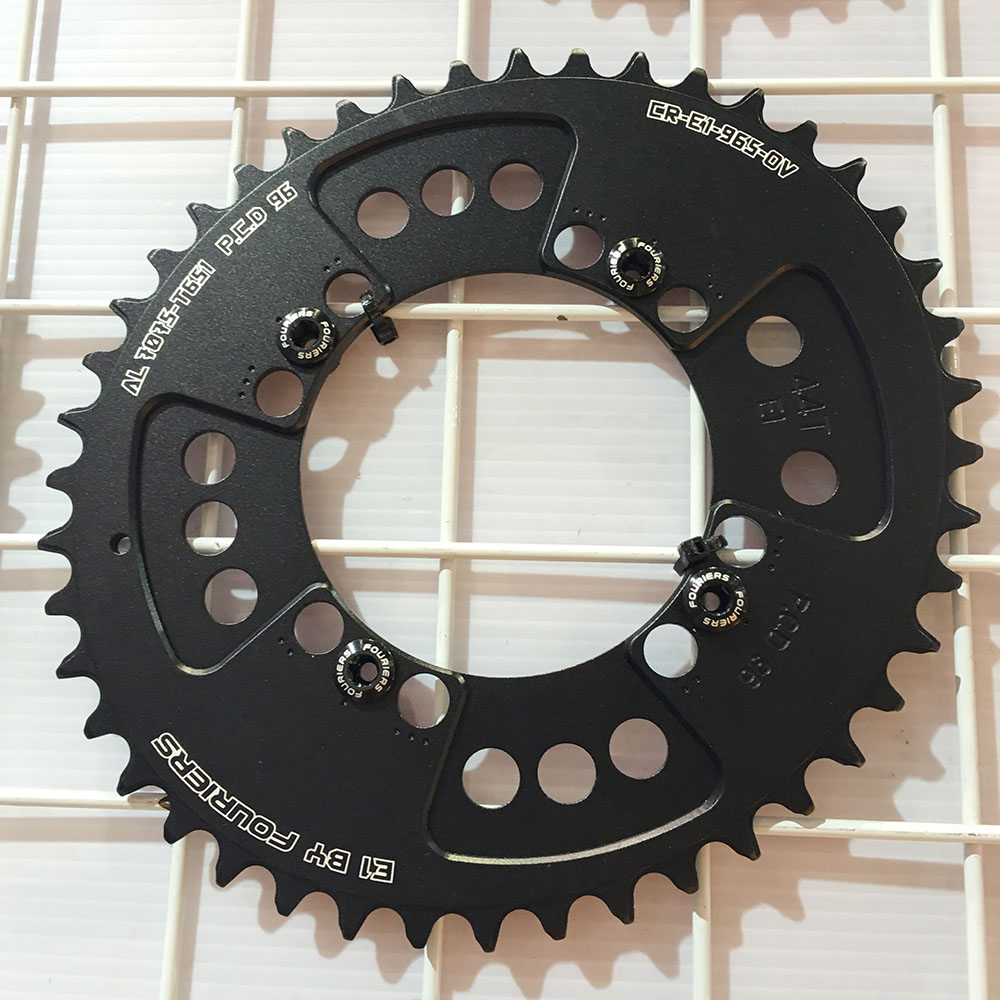 CNC AL7075 Oval Single Chainring Chain Ring BCD 96 40T 42T 44T Crank 1 x Speed For Shimano Fouriers холодильник bcd 102d