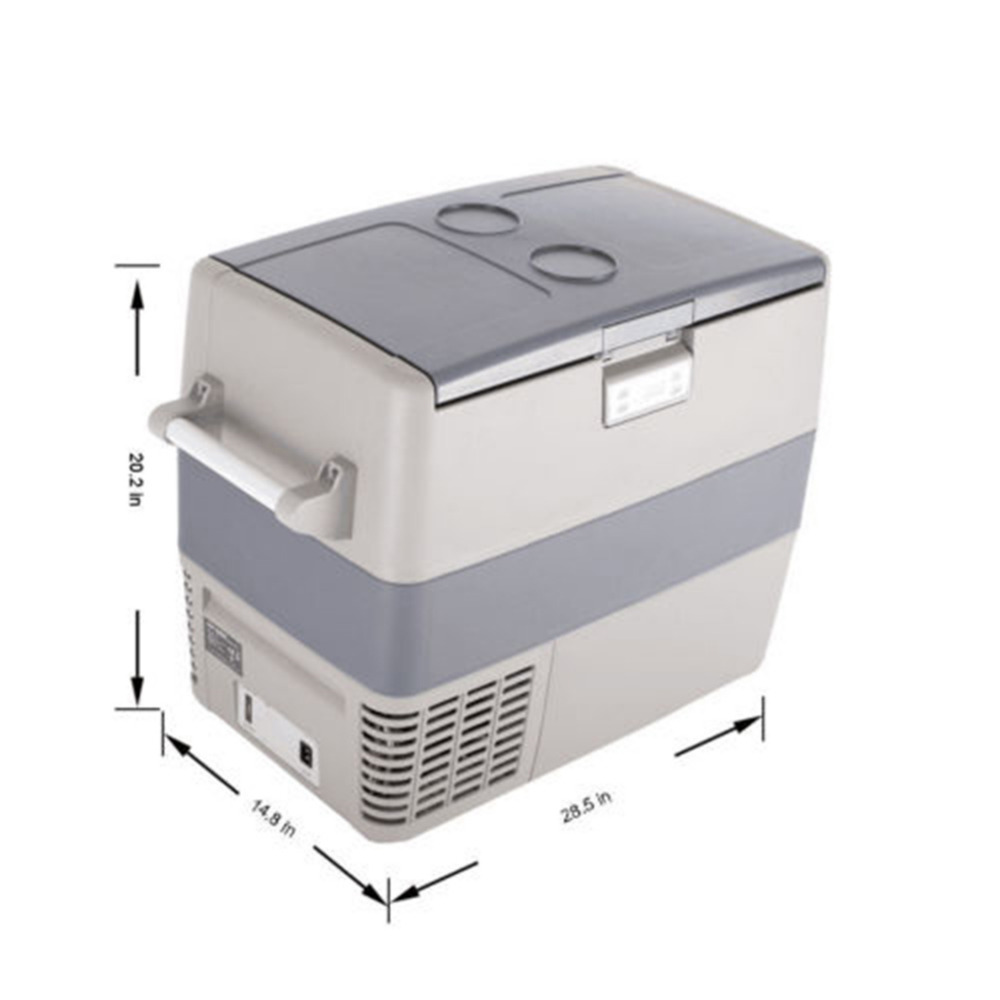 Smad Mini Portable Car Refrigerator Freezer 49L Compressor High Quality Truck Boat Freezer RV Small Fridge Can Cooler smad dc12v 4l abs mini car cooler warmer thermoelectric car truck refrigerator fridge beer soda 6 can fishong camper