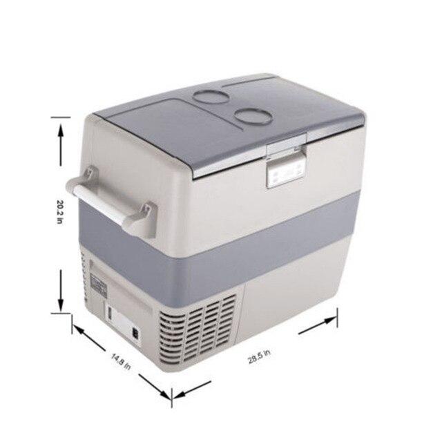 Smad Mini Tragbare Auto Kühlschrank Gefrierschrank 49L Kompressor ...