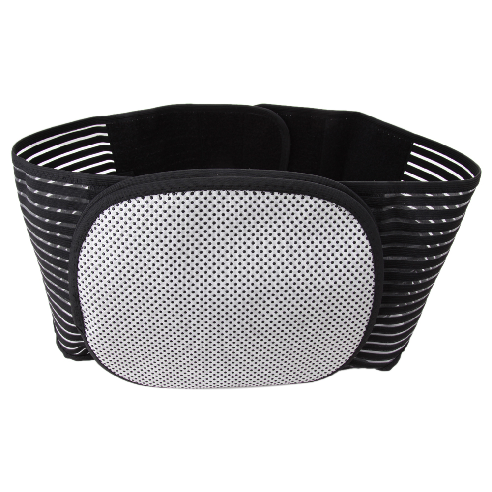 Import Stretch Cloth Heating Magnetic Therapy Belt Lumbar Back Waist Support Brace Adjustable Pad Massager Health Care