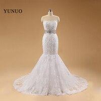 מכירת חמה התחרה renda vestido noiva שמלות כלה חרוז Cryatal סקופ מחשוף שמלות כלה וינטג עם סטרפלס x2154