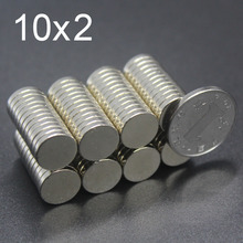 20/30/60/100Pcs 10x2 Neodymium Magnet 10mm x 2mm N35 NdFeB Round Super Powerful Strong Permanent Magnetic imanes Disc
