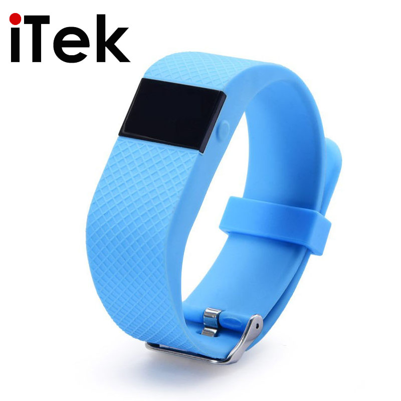 TW64S Heart Rate Monitor Bluetooth4.0 Fit Bit Pedometer Smart Wrist Band Inteligente Bracelet for iOS&Android Better Than JW86
