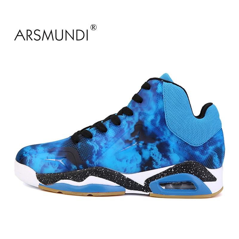 ARSMUNDI Muške cipele Košarka Sportske cipele Vanjski tenisice Muškarci Prozračna masaža Vodootporne čipke 2019 Ljetne cipele Muškarci