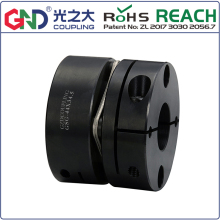 GSG 45# Steel Single Diaphragm Clamp Series GND shaft coupling D82mm to D126mm; L68mm L78mm