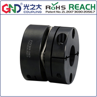 GSG 45# Steel Single Diaphragm Clamp Series GND shaft coupling D82mm to D126mm; L68mm to L78mm