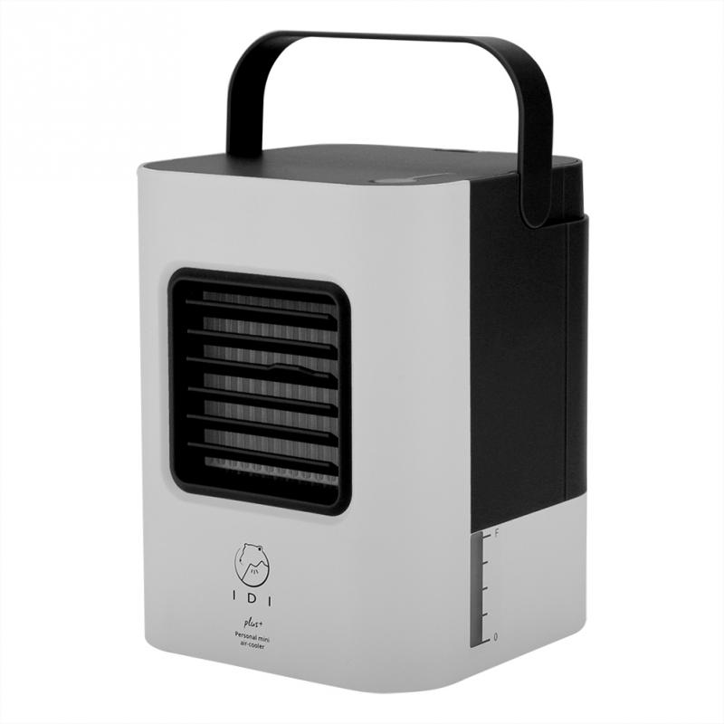 2 Colors Portable Mini Air Conditioner Fan Usb Cooler Cooling System Indoor Humidifying-in