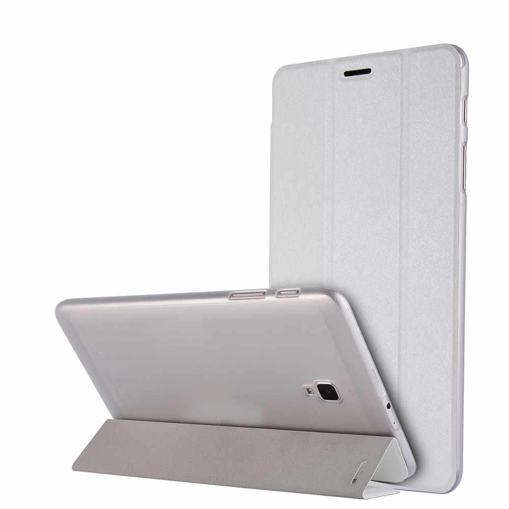 Модные Универсальный Ultra Slim из искусственной кожи для Samsung Galaxy Tab 8 0 2018 T380 T385