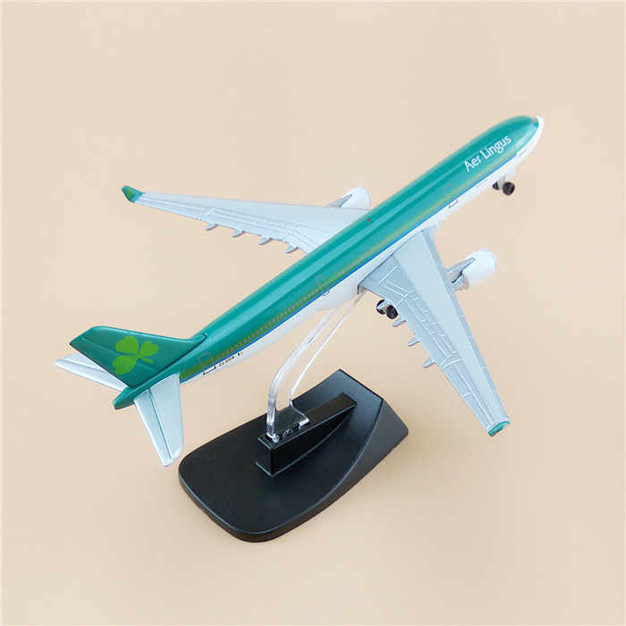13cm Alloy Metal Ireland Airbus 330 A330 Airlines Airways Plane Model Toy With Stand Wheels Aircraft Airplane Toys For Kid Gifts