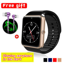 GT08 Smartwatch HD 1,54 zoll Lcd-bildschirm Bluetooth Tragbare Detektiv Android Reloj Inteligente Smart Uhr