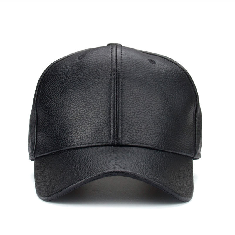 0f54da3d879 Joymay 2016 NEW PU Leather Baseball Cap Hip Hop caps gorras Snapback Hat  Biker