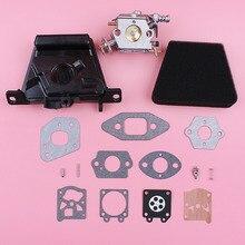 Kit de reparación de carburador para Partner 350 351, cubierta de filtro de aire, Junta limpiadora, pieza de repuesto de motosierra