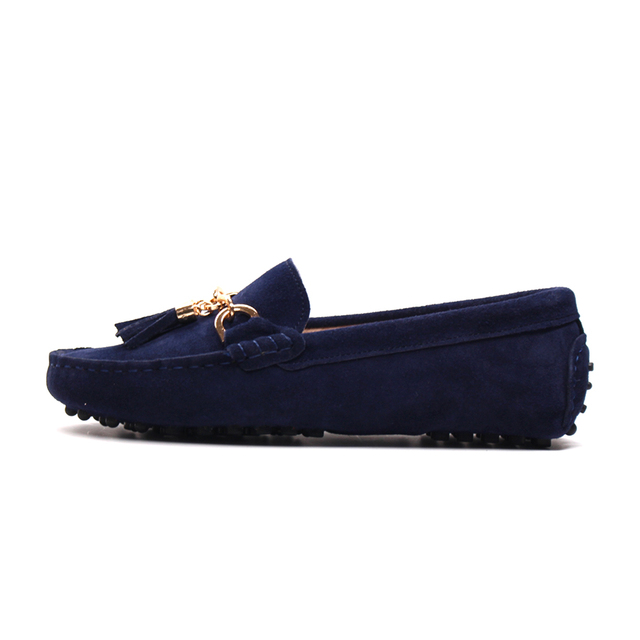 MIYAGINA 2017 New Arrival Casual Womens Shoes Genuine Leather Women Loafers Moccasins Fashion Slip On Women Flats Shoes