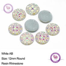 Buy for round cabochon rhinestones and get free shipping on ... ab357b5d7540