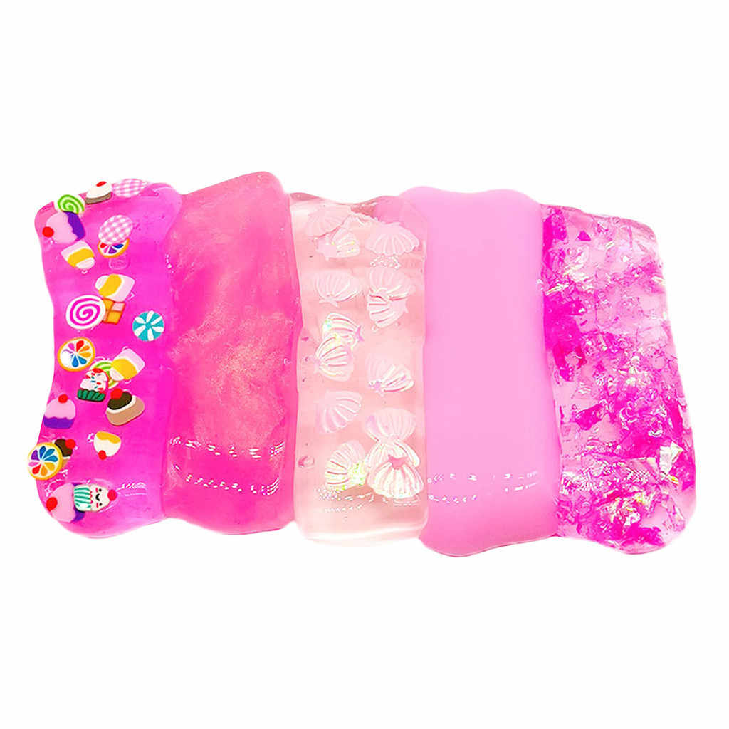 Kids Toy Baby Funny Toys For Boy Girl Beautiful Mixing Fluffy Floam Slime Scented Stress Relief Kids Sludge Toy