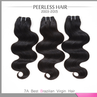 Top 7A Grade Soft Brazilian Virgin Hair Body Wave 3Pcs Lot Human Hair Extension Weave No Lices No Smell Can Be Mixed 12 To 28